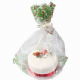 Culpitt Holly Basket / Cake Bag with Ribbon & Gift Card (1)